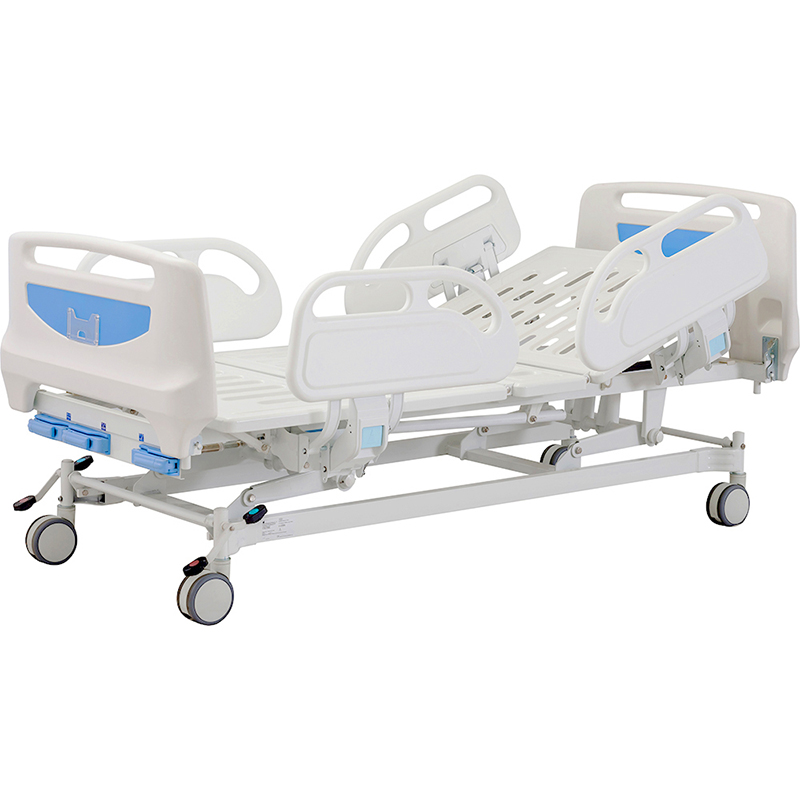 B3c Manual ABS Hospital Bed With Casters